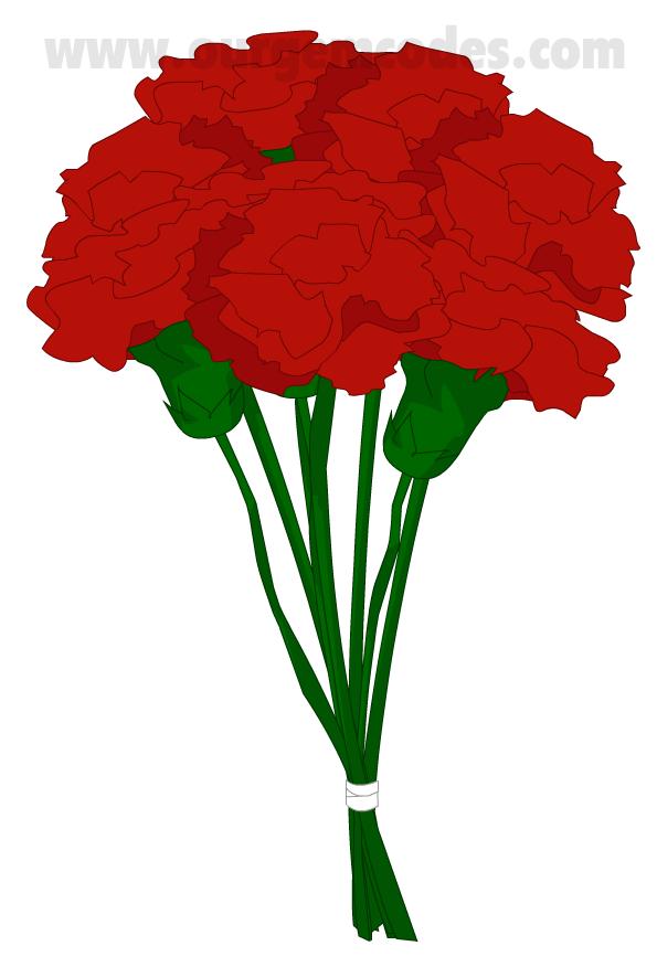 Carnation black singles