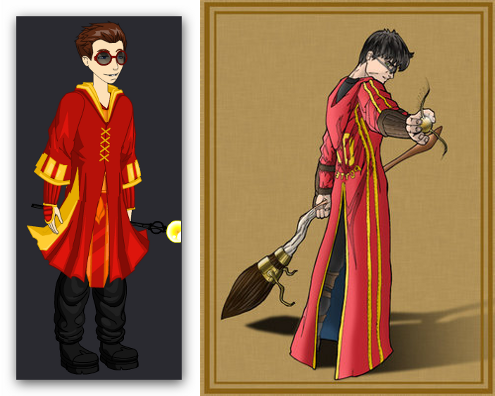 Harry Potter Quidditch Outfit – ourGemCodes