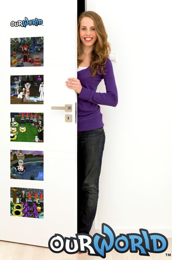 Decorate your bedroom door  Basics Custom Decals Pt III ourGemCodes. How To Decorate Your Bedroom Door